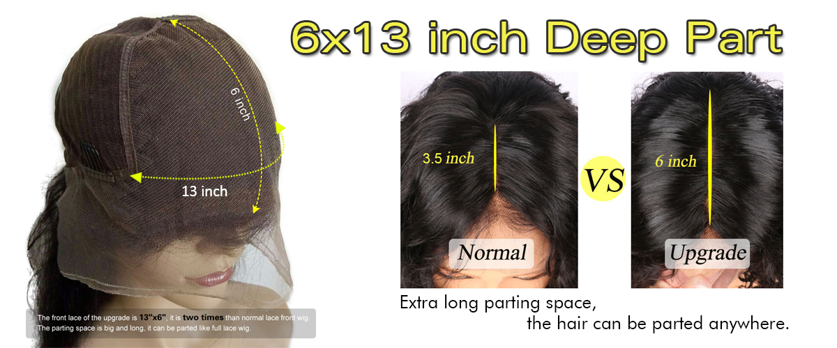 6X13inch deep part