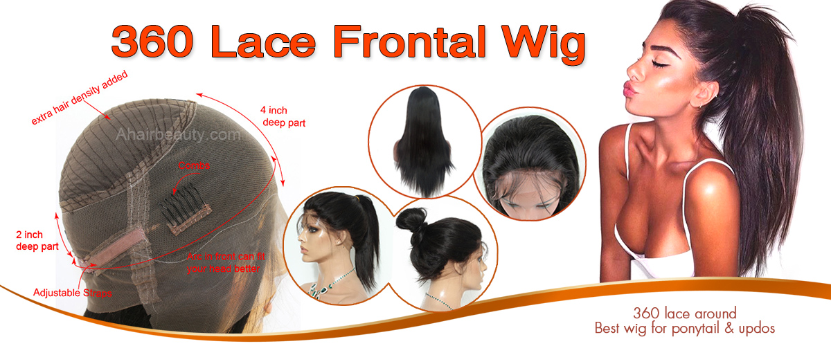 New 360 Lace Wigs