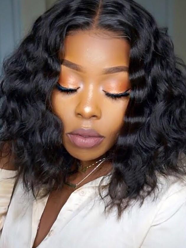 Fashion Gabrielle Union Bob Hairstyle Indian Remy Hair Glueless Lace ...