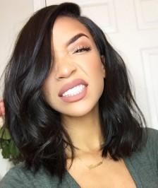 Kim Kardashian Bob Haircut Virgin Indian Hair Lace Wig [BBW03]