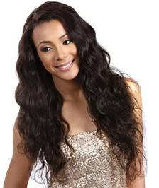 Brazilian Virgin Human Hair Full Lace Wigs Body Wave Natural Color