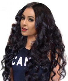 Pre-Plucked 360 Lace Wig Heavy Density Indian Remy Human Hair Loose Wave [LW3611]
