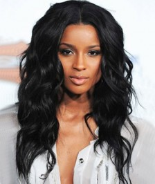 Natural Wave Glueless Full Lace Wigs Indian Remy Human Hair On Sale [IFLW13]