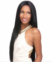 Good Quality Silky Straight Lace Front Wigs Indian Remy Hair On Sale