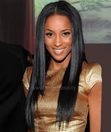 Full Lace Wigs Top Quality Virgin Brazilian Remy Human Hair Silky Straight Natural Color