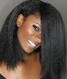 Kinky Straight Virgin Brazilian Human Hair Full Lace Wigs Best Quality[BFLW04]