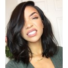 Kim Kardashian Bob Haircut Virgin Indian Hair Lace Wig [BBW03]